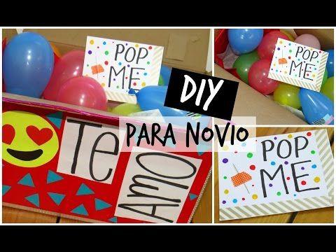 Diy pop me regalo para novio youtube crafty - Que hacer para sorprender a tu novio ...
