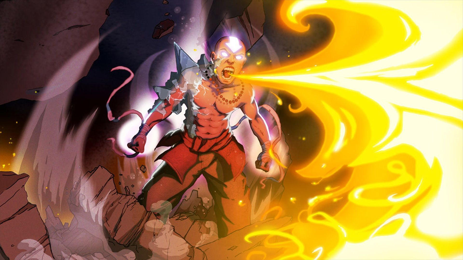 As Promised Last Week Here S A Collection Of Avatar Wallpapers Album On Imgur O Ultimo Mestre Do Ar Aang Avatar