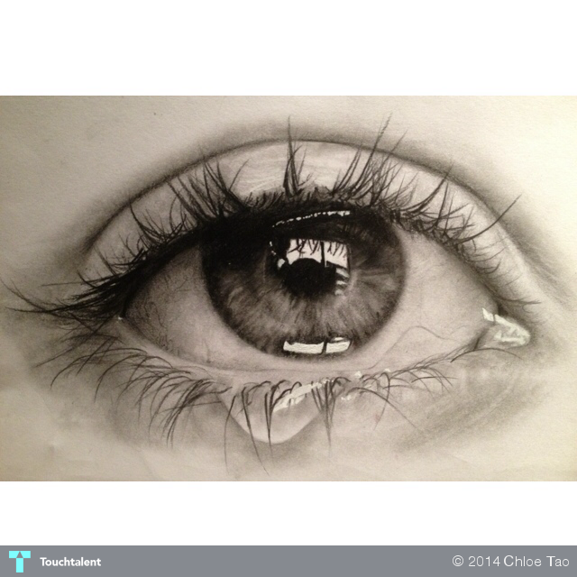 Pencil Drawing Oko Pinterest