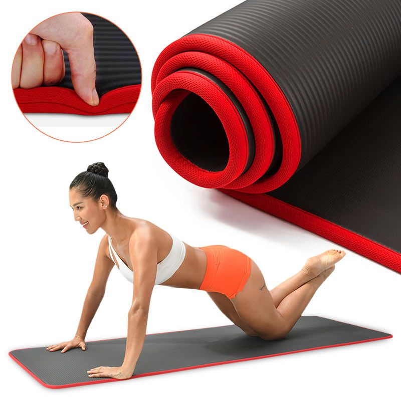 Cheap Yoga Mats Buy Quality Sports Entertainment Directly From China Suppliers 10mm Yoga Mat Extra Thick 1 In 2020 Extra Thick Yoga Mat Workout Pad Pilates Yoga Mat