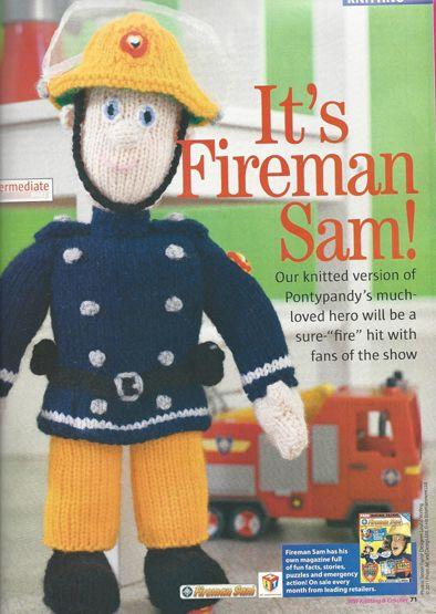 Fireman Sam designed for Woman\'s Weekly | Kézműves | Pinterest