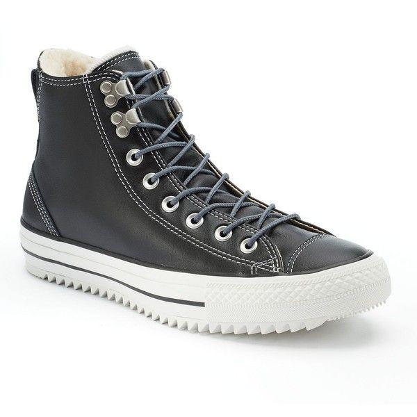 Zapatos negros Converse All Star Hi para hombre RXvfShh