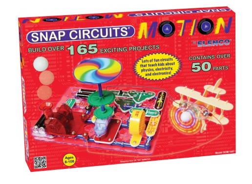 snap circuits motion electronics discovery kit physics \u0026 motionsnap circuits motion electronics discovery kit physics \u0026 motion based electronic experimenter\u0027s kit snap circuits motion contains over 50 parts with over
