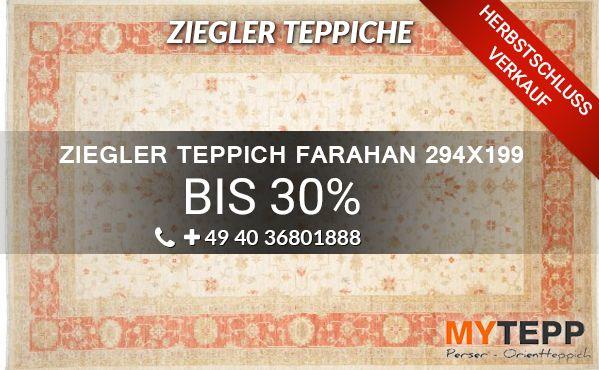 online kaufen ziegler klassische teppiche farahan 294x199 wir f hren eine gro e auswahl an. Black Bedroom Furniture Sets. Home Design Ideas