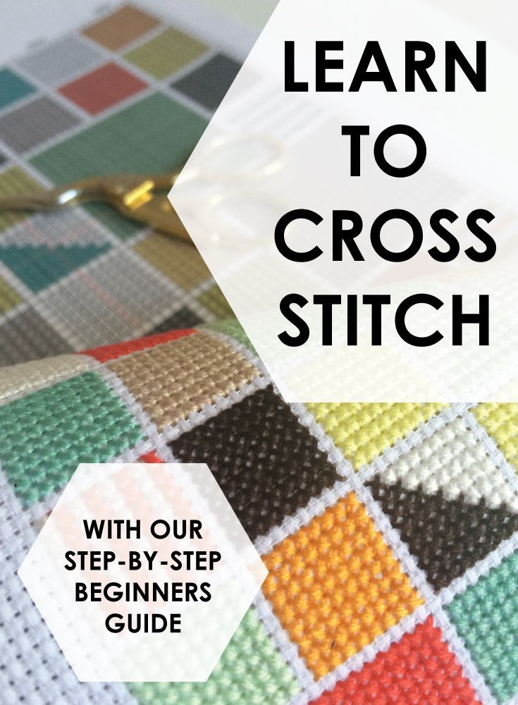 Learn to cross stitch with Spruce Craft Co. Beginners Guide - Check out www.