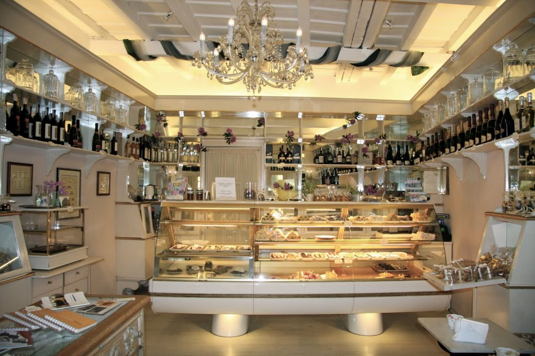 Small bakery kitchen layout retail bakeries coffee for Kitchen design shops