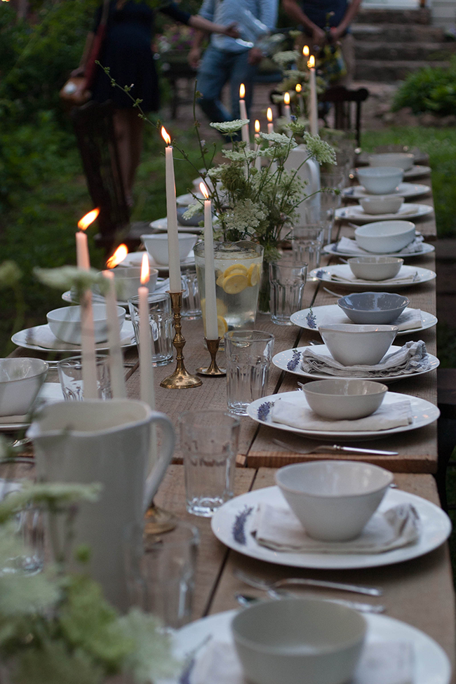 a daily something: A Daily Gathering | Backyard Potluck | GATHER ...