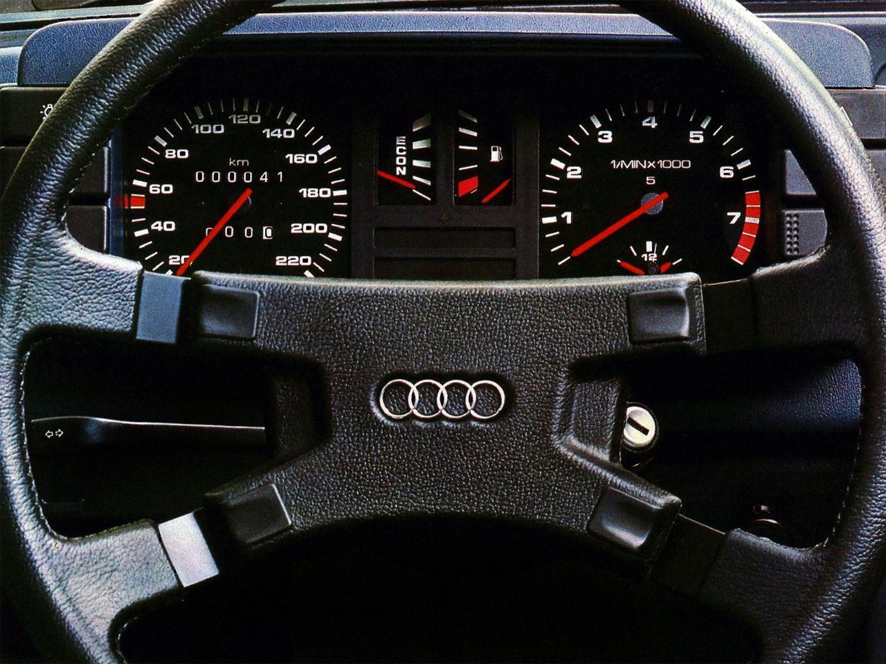 1981 Audi 80 Audi Car Interior Vehicle Gauge