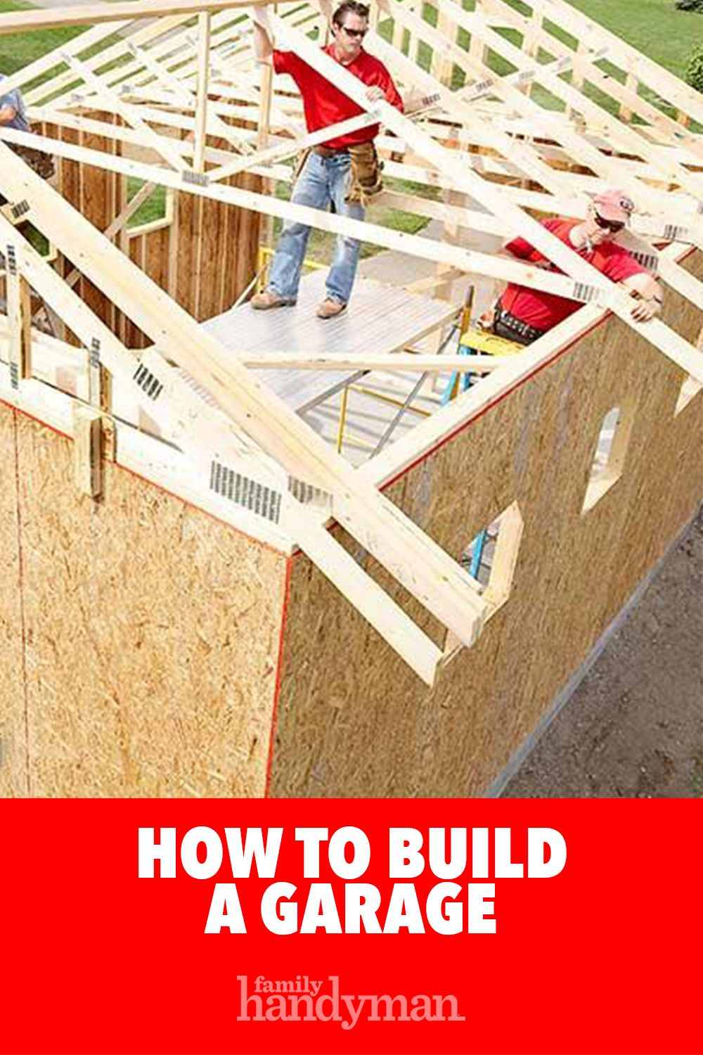 Photo of How to Build a Garage