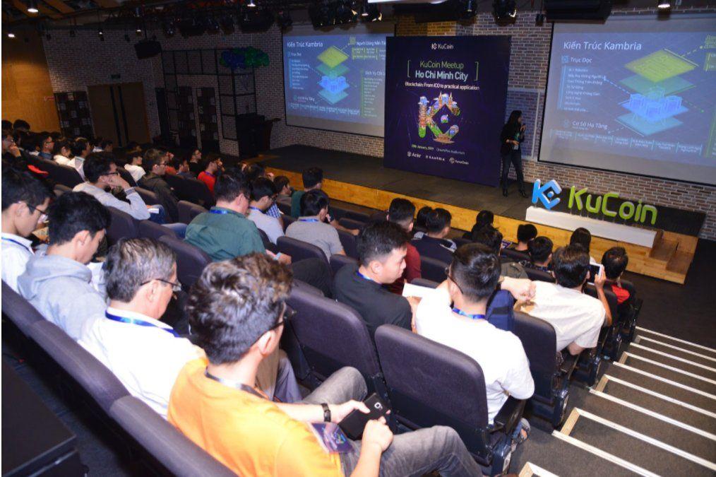 "Kambria tại sự kiện KuCoin Meetup Blockchain ""Từ ICO đến"