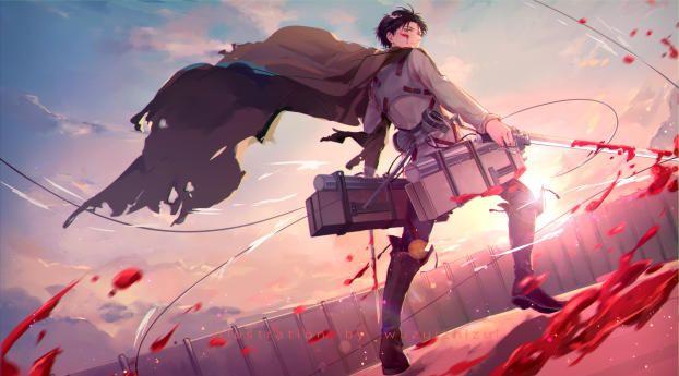 1920x1080 Levi Ackerman 1080P Laptop Full HD Wallpaper, HD Anime 4K Wallpapers | Wallpapers Den