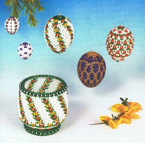 beadedchristmasornamentsfreepatterns  Stenboden Pattern