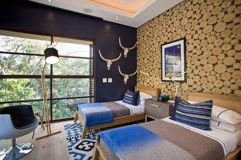 Wall Sticker And Accessories For Modern Rustic Bedroom Decor Ideas