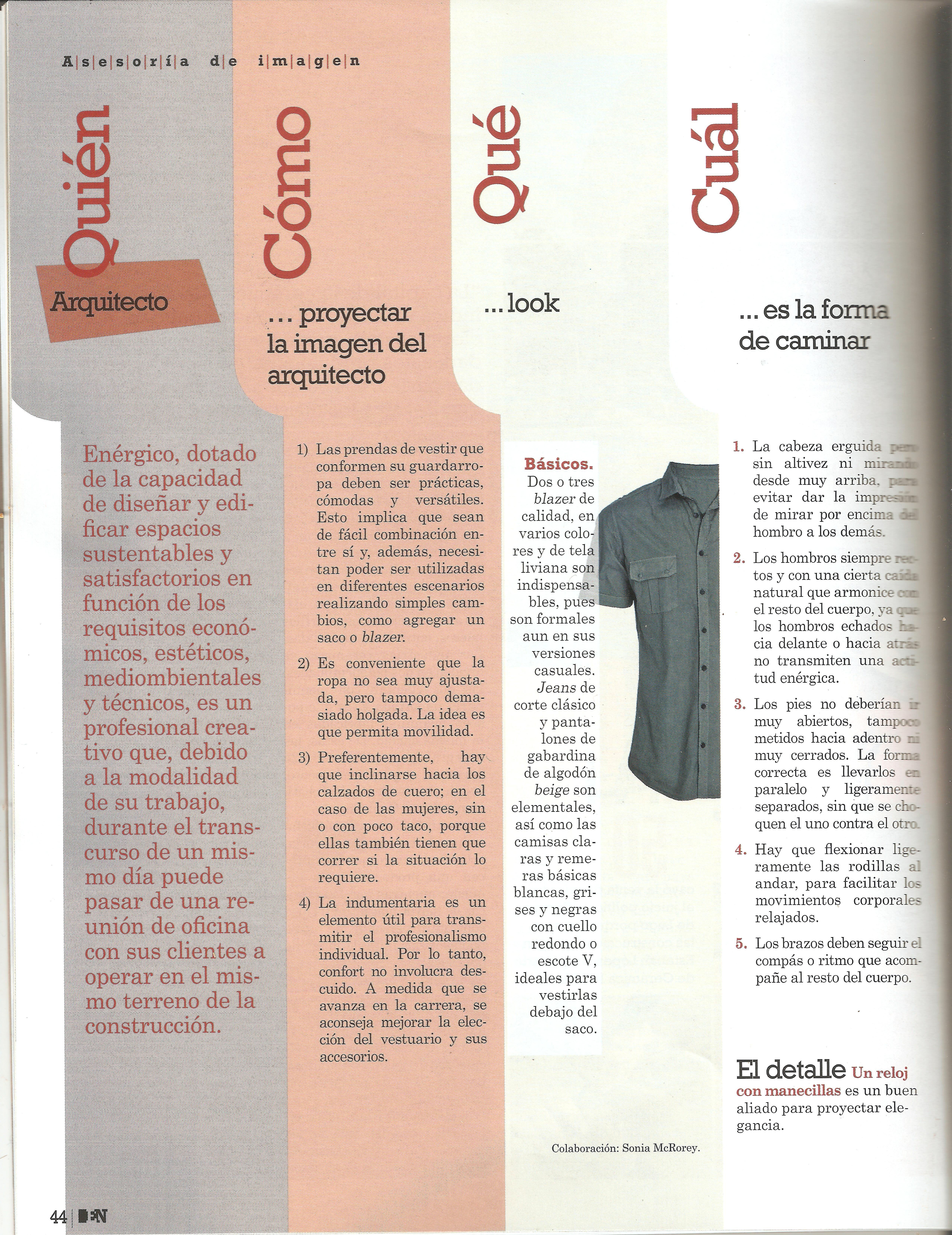 #Arquitecto.Colaboración Publicada hoy en la Revista Mensual Empresas y Negocios de abc #AsesoriaDeImagen #Paraguay