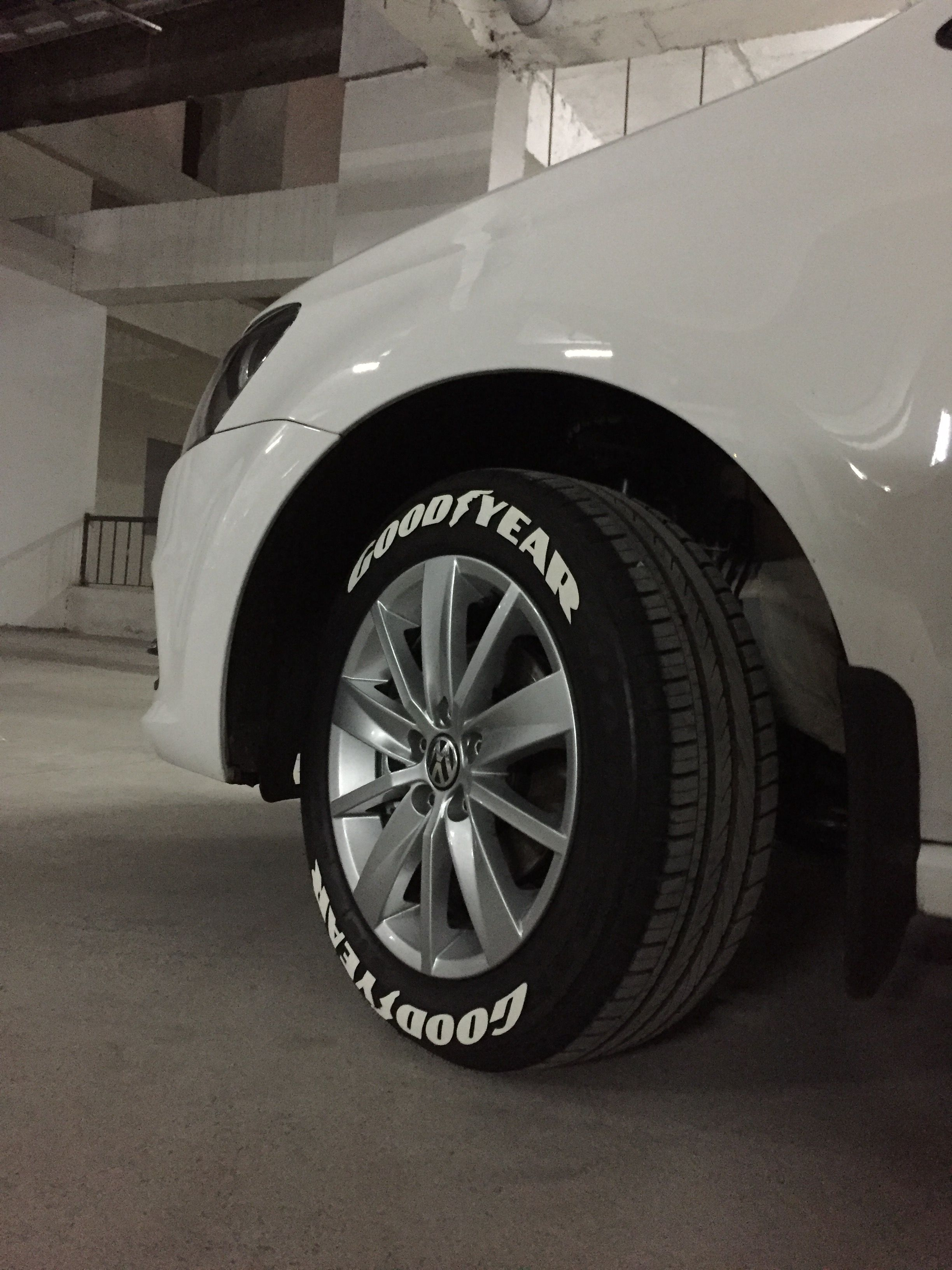 Goodyear tyre stickers available for all tyre sizes | Tyre lettering