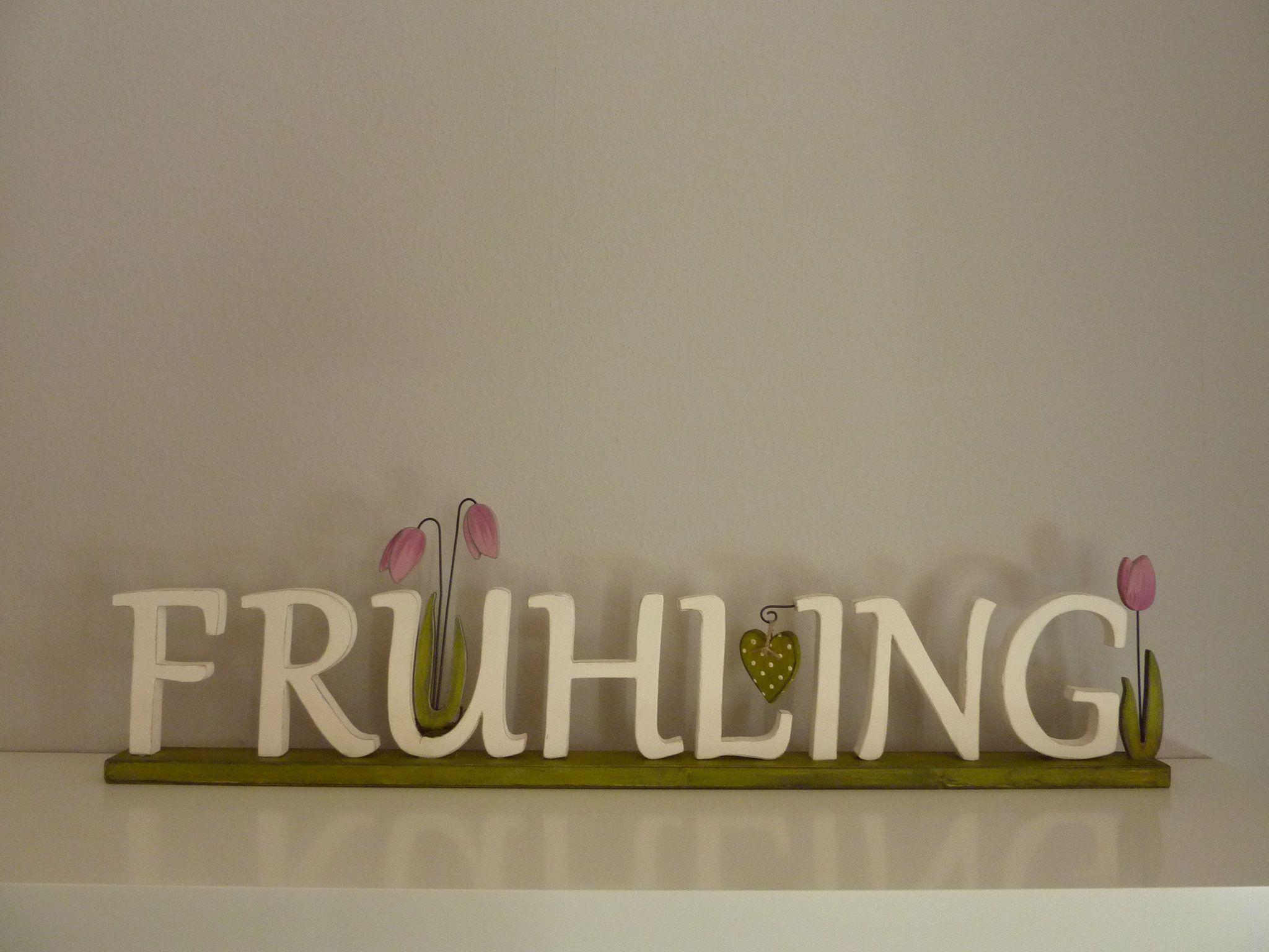 FRÜHLING-Schriftzug 37€ | woodlouse - Holzkunst- Holzdeko ...