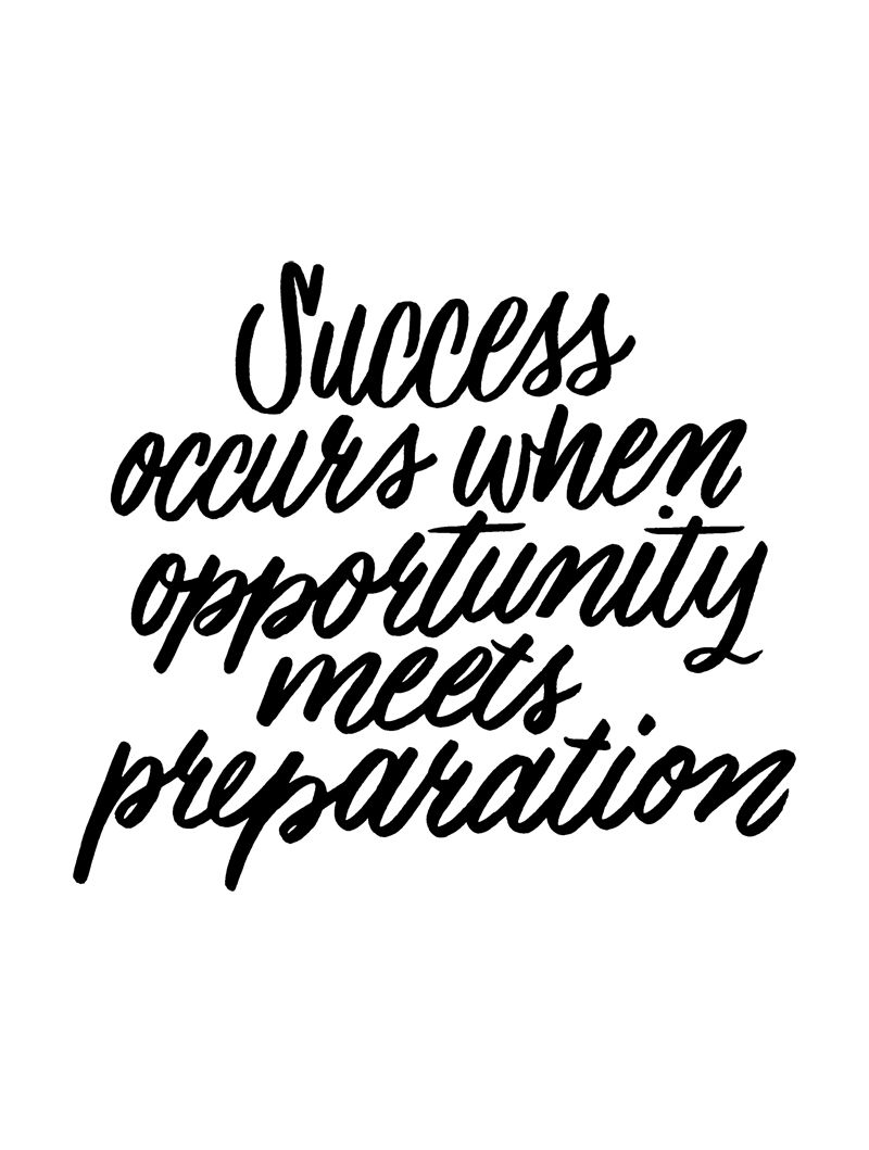 Quotes About Success: Best 25+ Preparation Quotes Ideas On Pinterest