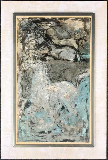 "Dorothy-Bowman-""Moonlit-Horses""-Serigraph-2"