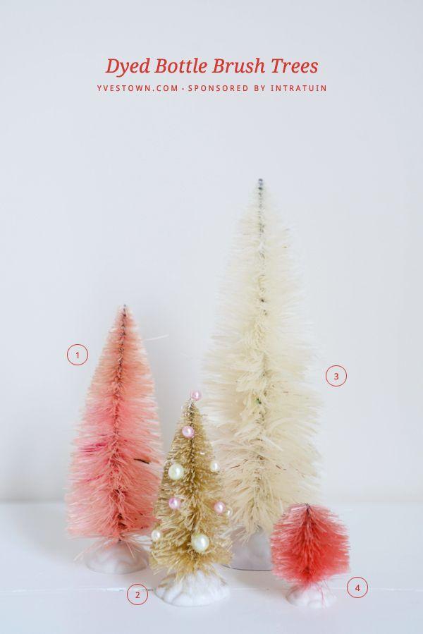 http://www.yvestown.com/blog/2013/11/dyed-bottle-brush-trees