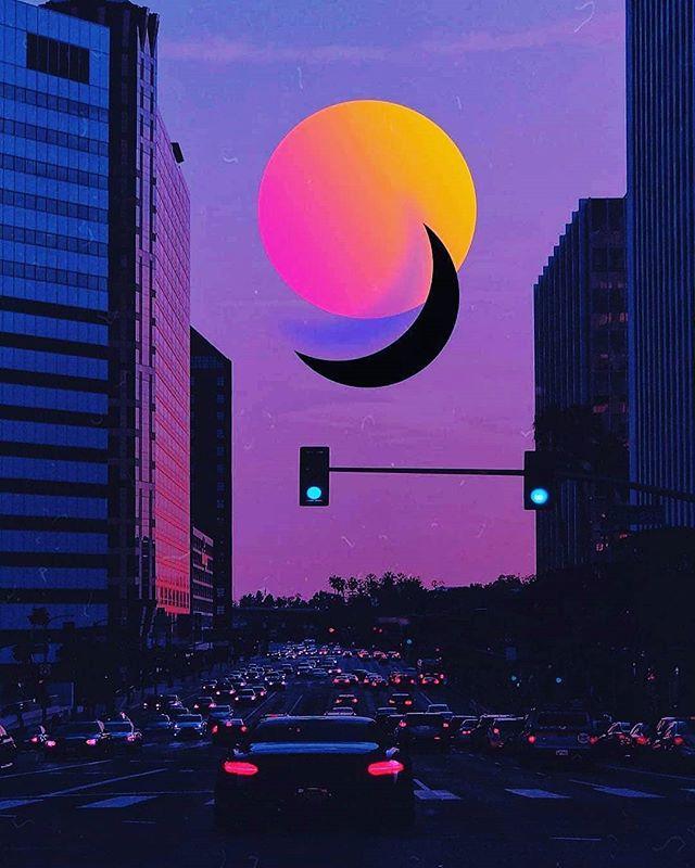 Future Funk Wallpaper : future, wallpaper, Moonlight, ➡️Check, Merch, ➡️Subscribe, YouTube, Channel, Daily, Future, Vaporwave, Music!, Music,, Vaporwave,, Instagram