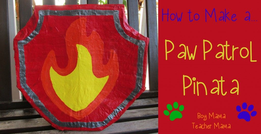 Paw Patrol Birthday Party - Paw patrol pinata, Paw patrol birthday party, Paw patrol birthday, Paw patrol, Paw patrol party, Boy birthday parties - Paw Patrol Birthday Party I have been putting off writing this post for some reason, but now as I am flying high above the US with a few hours on my hands, I am determined to get it done! My son r…
