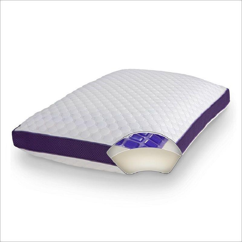 Lux Living Cooling Gel Memory Foam Pillow Gel Memory Foam Memory Foam Pillow Memory Foam