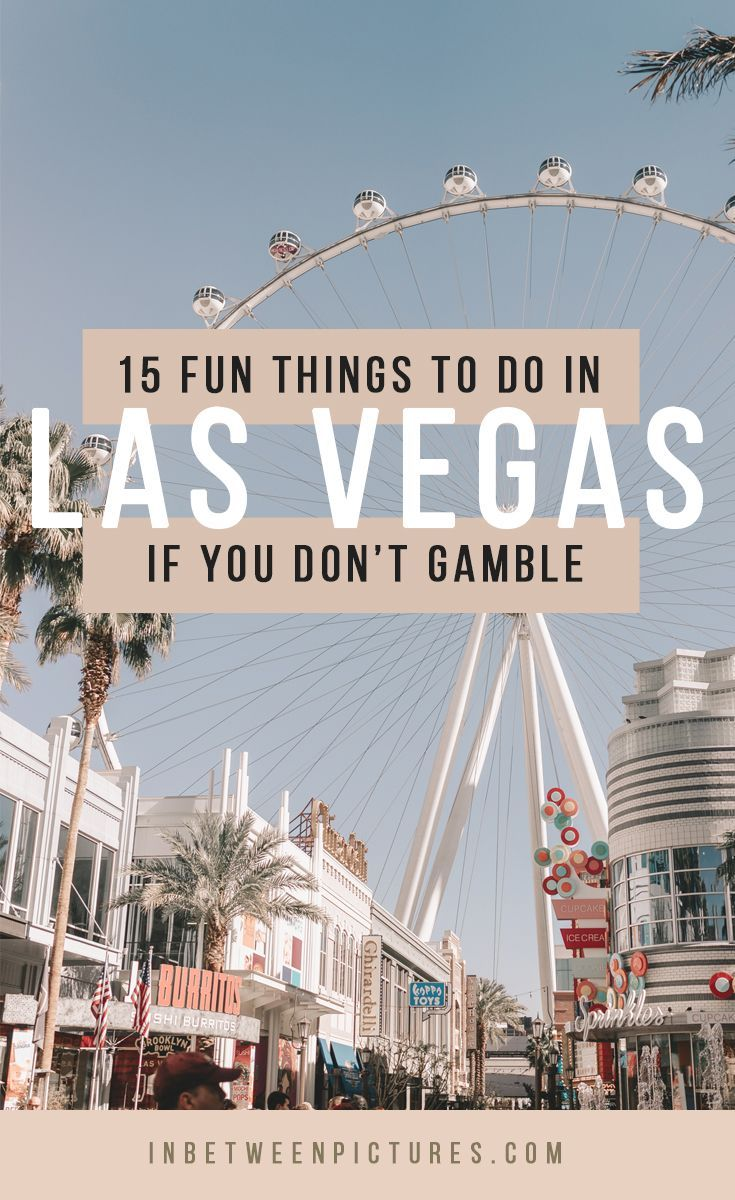 15 Best Things To Do In Las Vegas Besides Gamble Las Vegas Trip