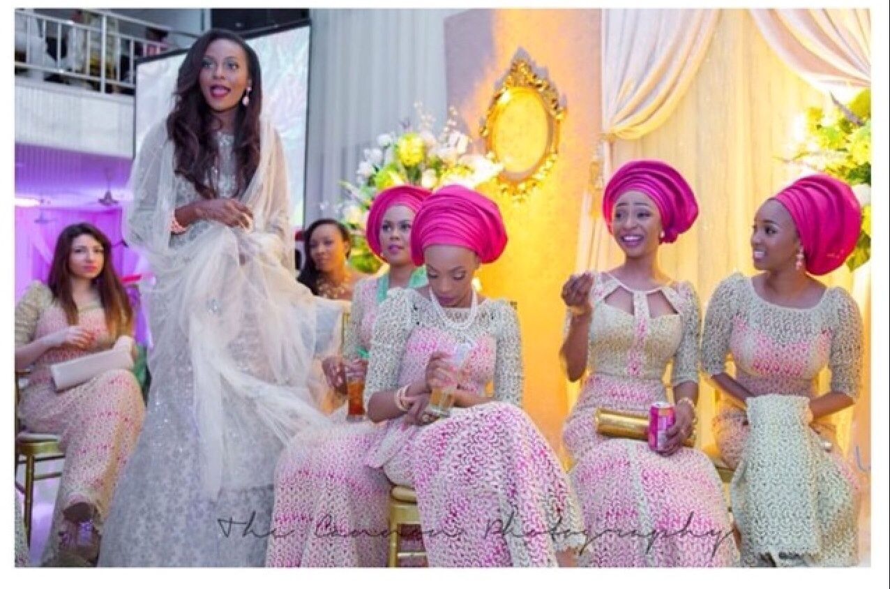 From lace to chiffon to colors this seasonus asoebi outfits