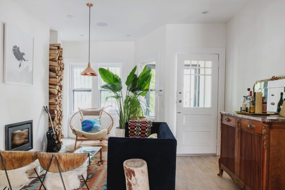 Small living room in a Brooklyn brownstone | Home, Gravity ...