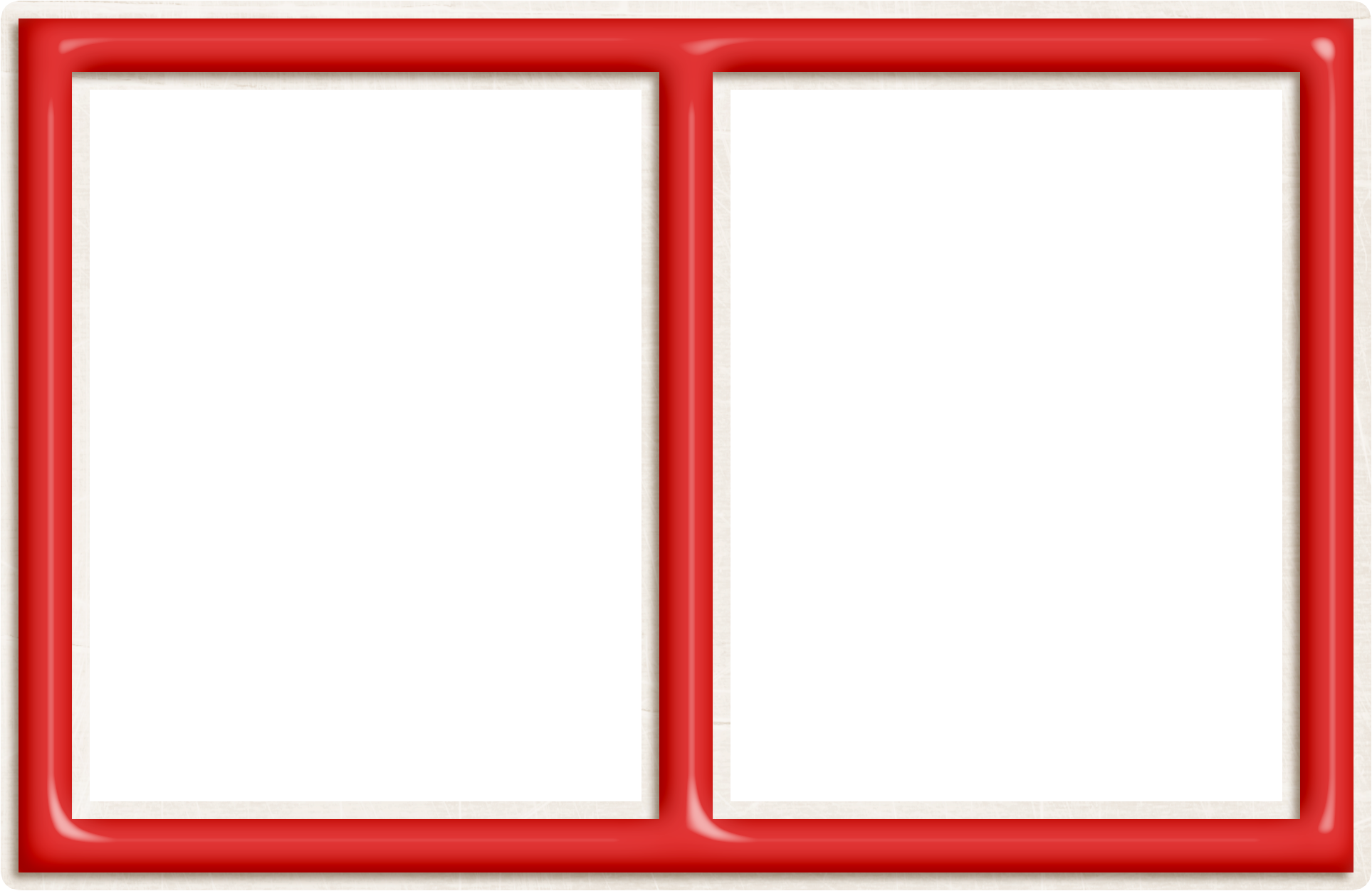 Red Double Frame Png Red Frame Frame Tableware