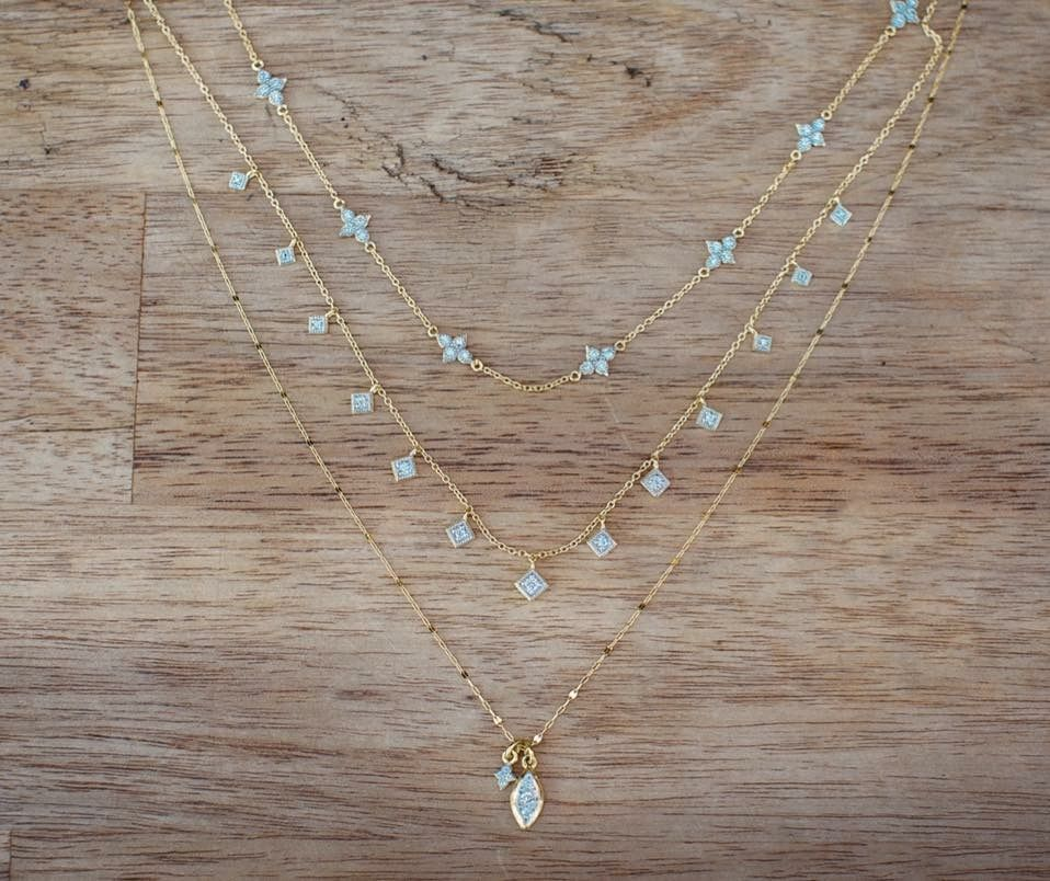 Add some necklace layers to your spring look jewelry