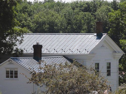 Vertical Seam Metal Roof Vertical Metal Seam Roofs