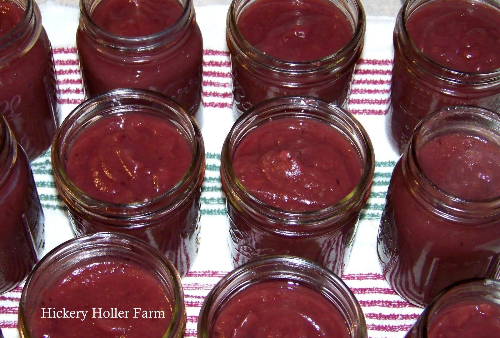 Hickery Holler Farm Apple Blackberry Butter Home