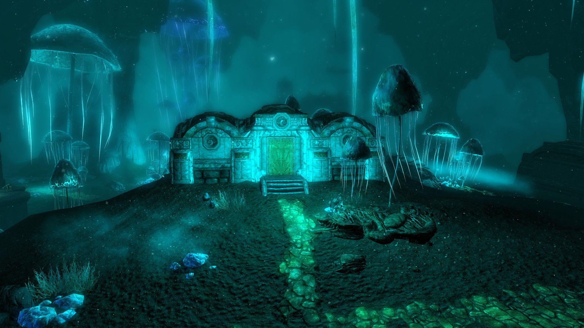 Lost Dwemer City: Skyrim   Dark Places & Minerals   Skyrim, Mushroom