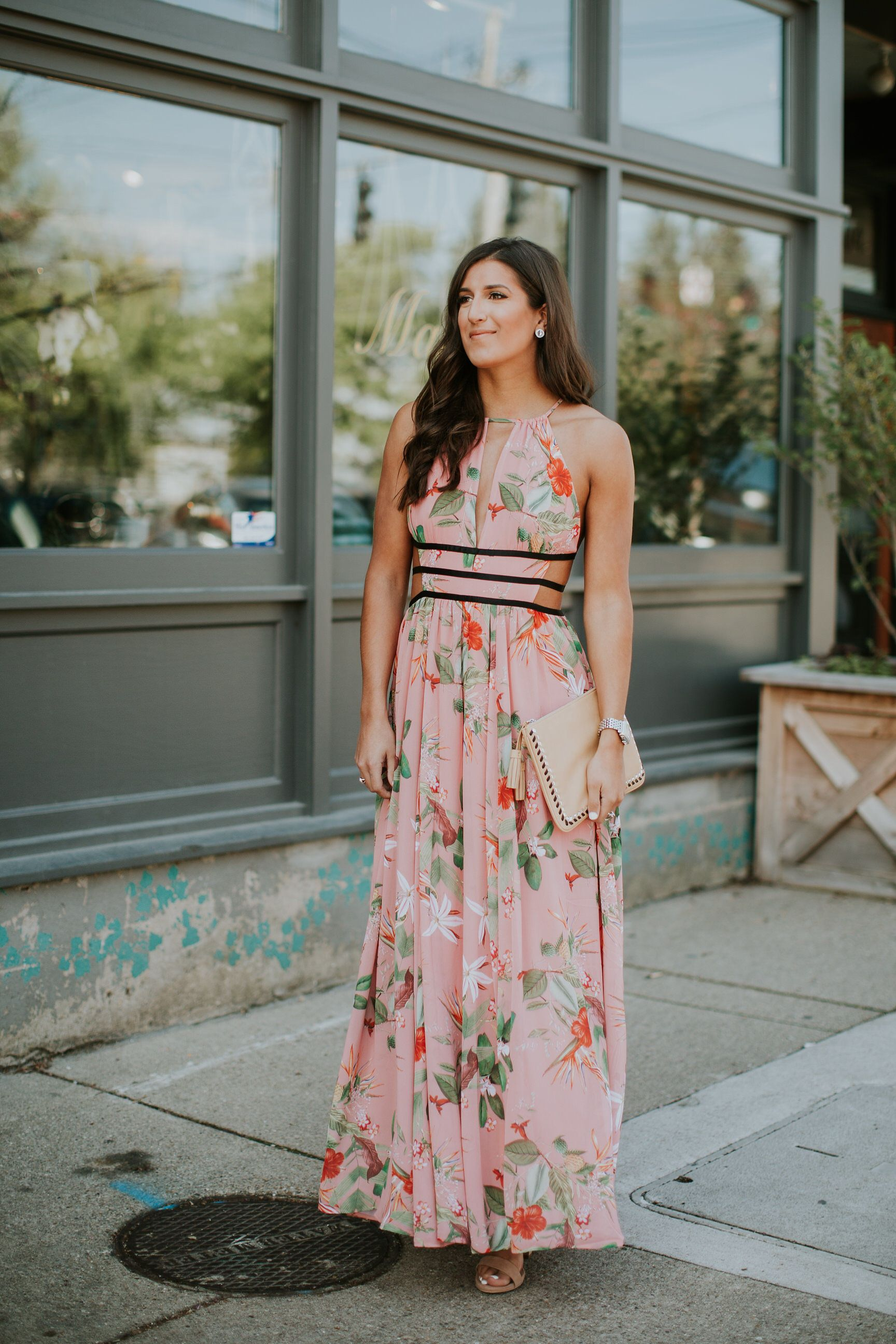 Floral Maxi Dress | Floral maxi dress, Floral maxi and Spring style