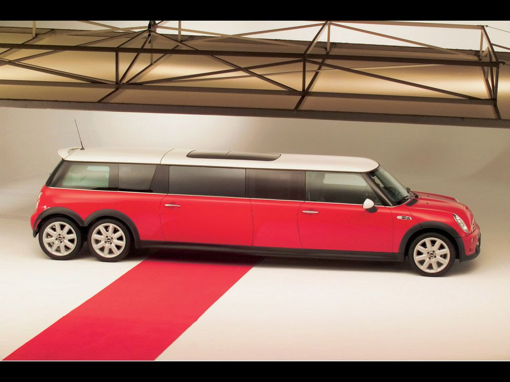 Mini Cooper Stretch Limo I just found out this amazing superb car ...