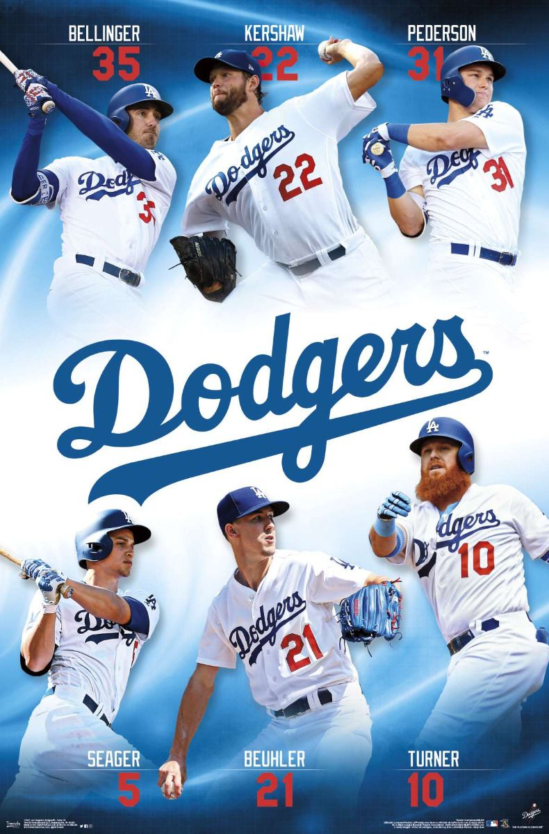 Mlb Los Angeles Dodgers Team In 2020 Los Angeles Dodgers Dodgers La Dodgers Players