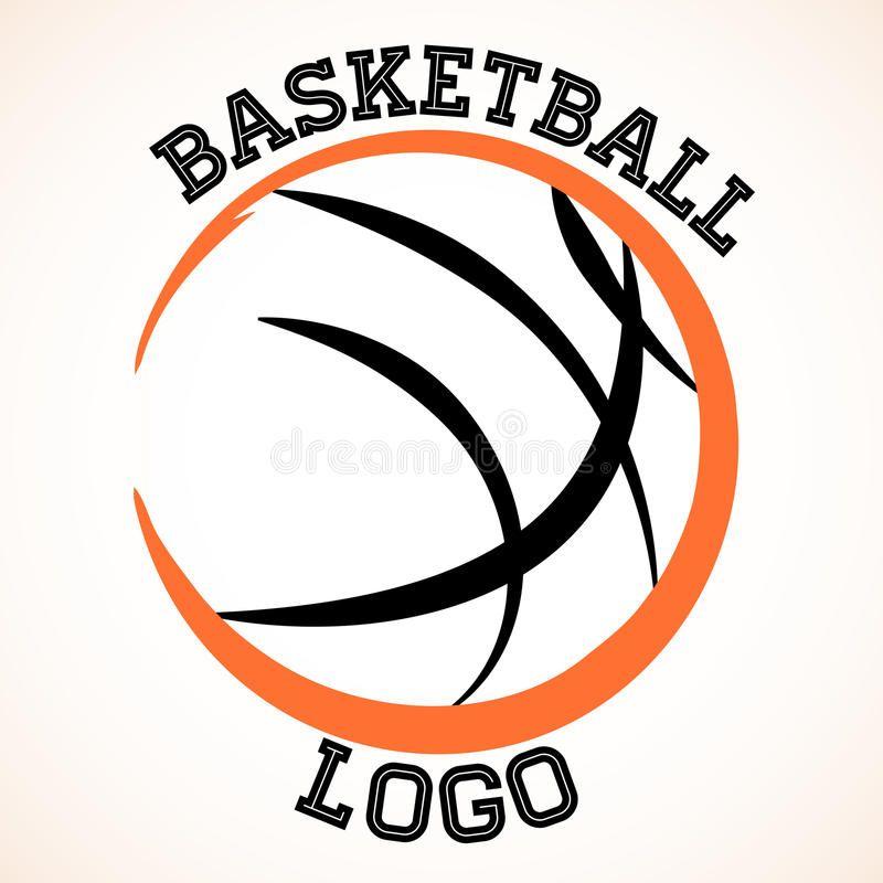 Basketball Logo Vector Basketball Team Logo On White Background Sponsored Vector Logo Basketball Basketball Logo Basketball Logos Basketball Shirts