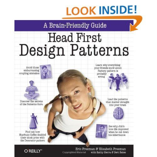 Amazon Com Head First Design Patterns 9780596007126 Elisabeth