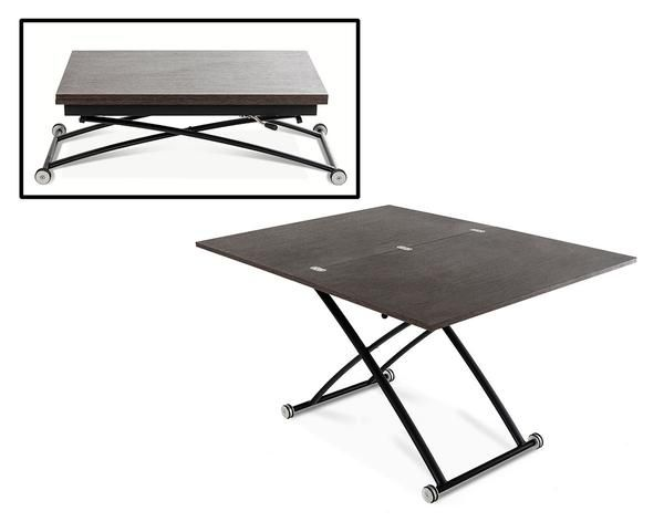Extendable Coffee Table modrest central - modern extendable foldable coffee table | modern