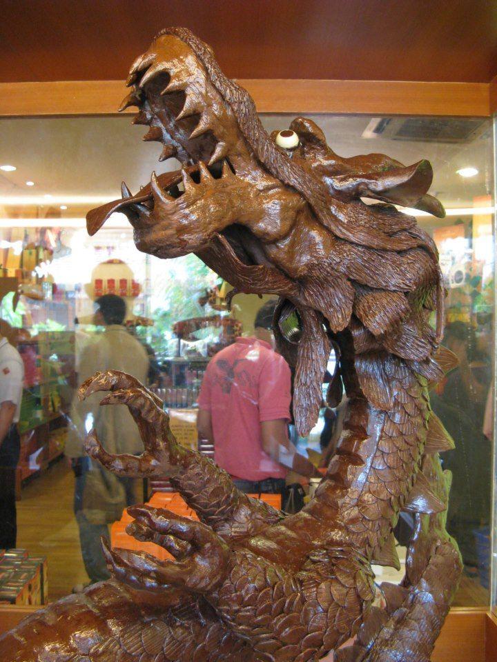 Dragon Themed Item-Chocolate Sculpture