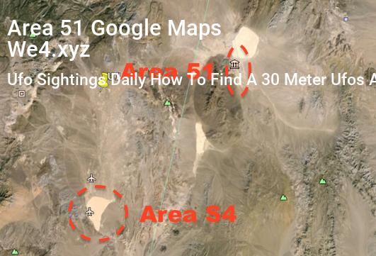 Area 51 Google Maps Area 51 Google Maps Coordinates Nevada Area 51
