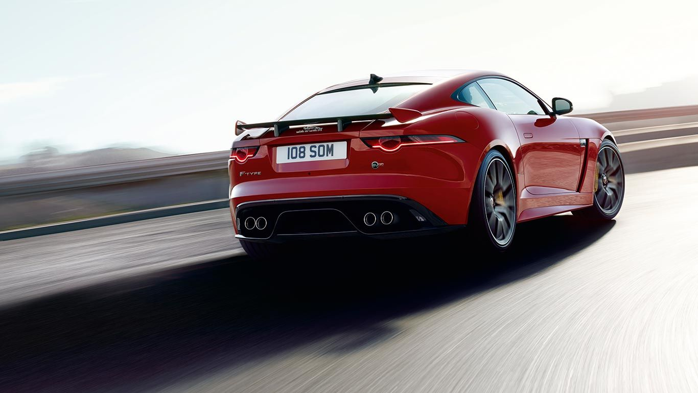FTYPE SVR IN CALDERA RED WITH OPTIONAL FEATURES FITTED