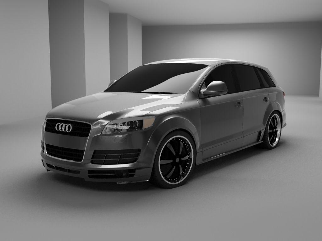 Audi q7 suv vossen wheels tuning cars wallpaper - Computer Generated Design Suv Carssuv Trucksjeep Truckaudi Q7car