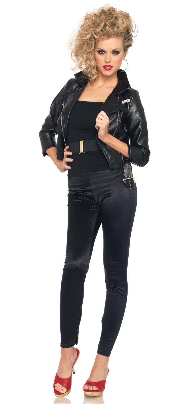 Grease Bad Sandy Jacket Adult Costume Costumes Grease Outfits