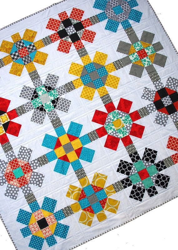 Labyrinth Quilt Pattern Pdf File A Red Pepper Quilts Patchwork