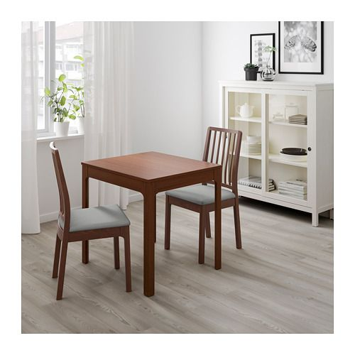 EKEDALEN Extendable Table, Brown | Smart Design, Apartments And Living Rooms
