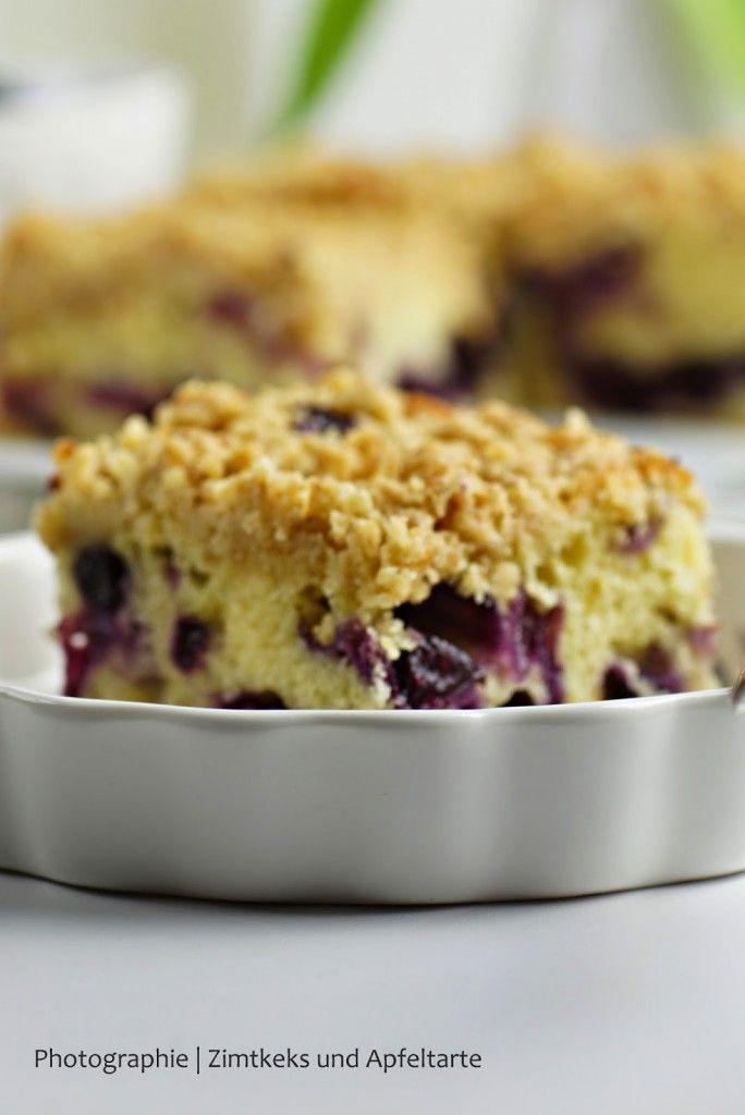 Blaubeer Schmand Zitronenkuchen Mit Streuseln Rezept Kochen Und Backen Kaffee Und Kuchen Und Dessert Ideen