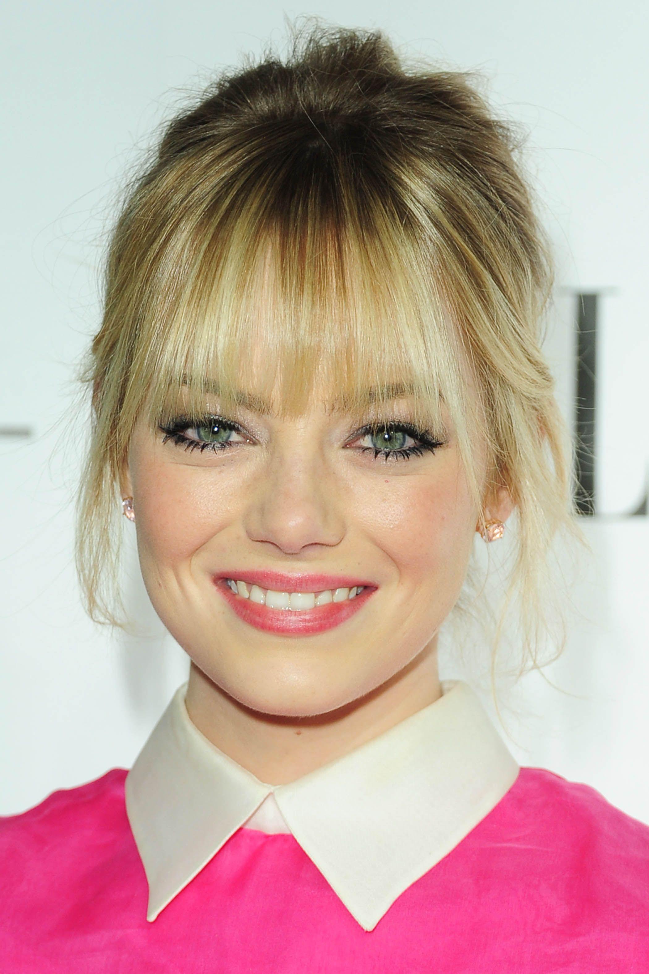 P 2707 Hair Beauty Blonde Bangs Beautiful Hair