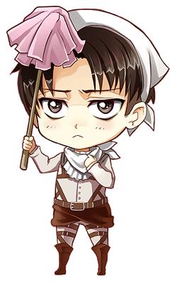 Chibi Levi - Levi 'Rivaille' (Shingeki no Kyojin) Fan Art (36540161) - Fanpop